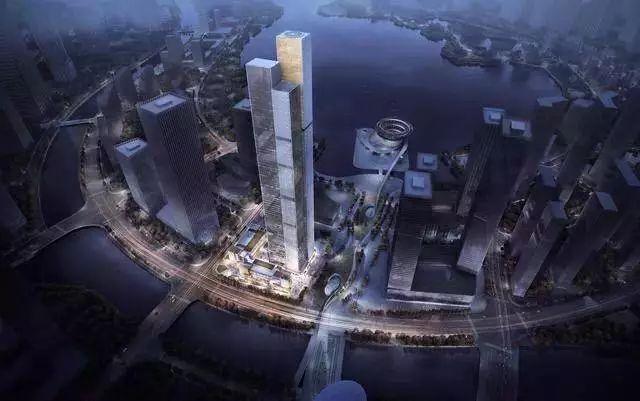 长沙CBD323米新地标长沙金茂大厦